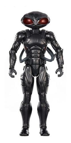 figura aquaman  true-moves black manta de 12 pulgadas fxf93