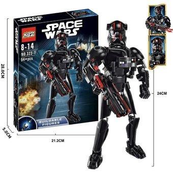 figura armable stormtrooper - 94 piezas
