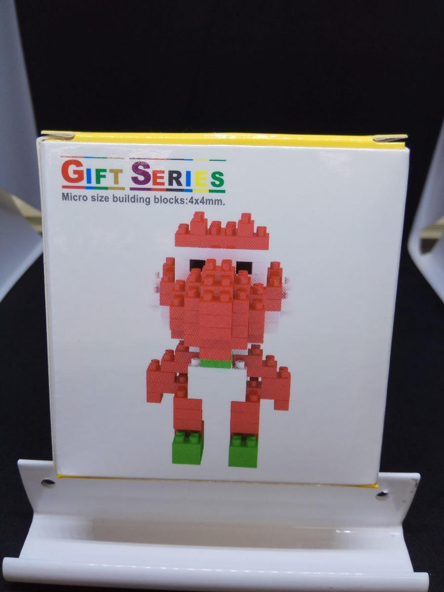 Figura Armable Yoshi De Mario Bros Bloques Nano Tipo Lego 200 00