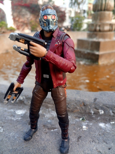 figura articulable star lord peter quill infinity war