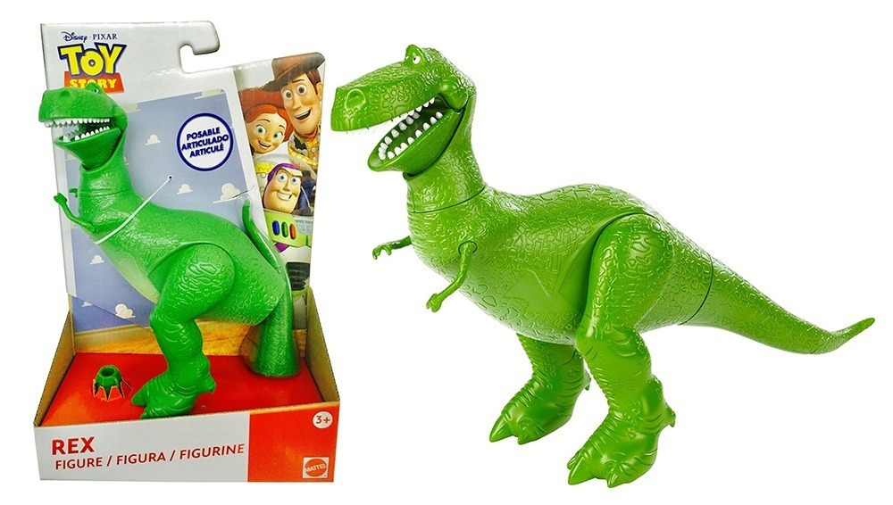 Figura Articulada - Disney - Toy Story - Rex - Mattel - R  139 ad24814bdb2