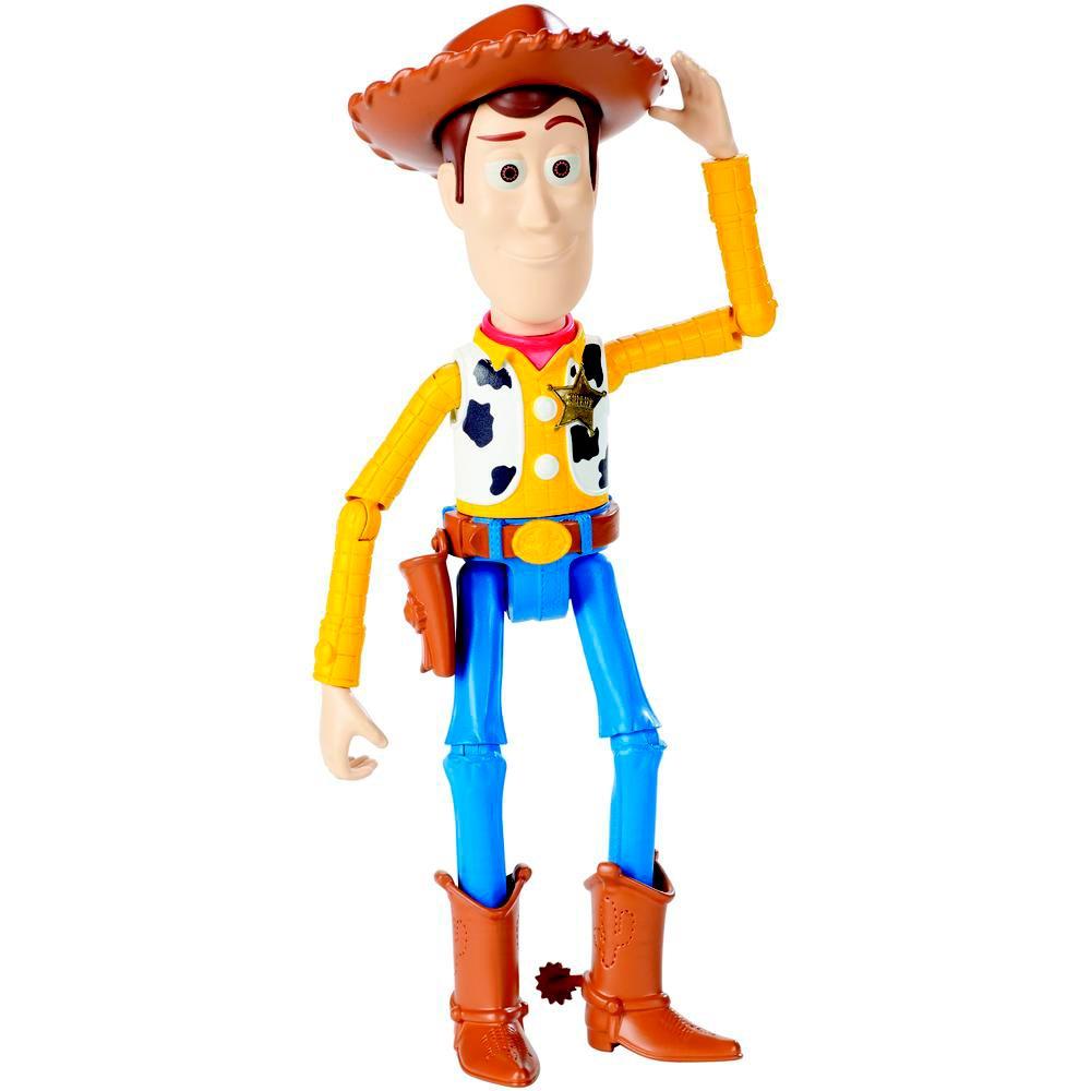 Figura Articulada - Disney - Toy Story - Woody - Mattel - R  159 5741559c3bc