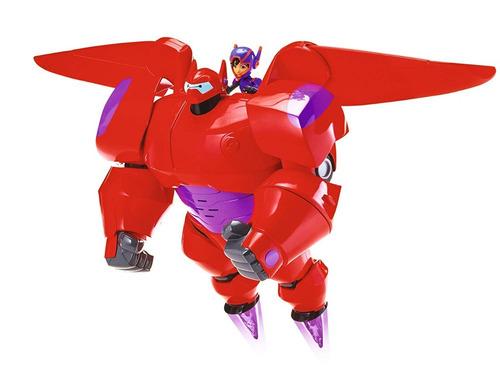 figura big hero 6 41306 flame blast flying baymax 10 pulgada