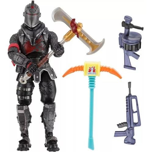 figura black knight con accesorios  fortnite  itoys