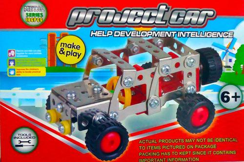figura bloque metal armable auto jeep