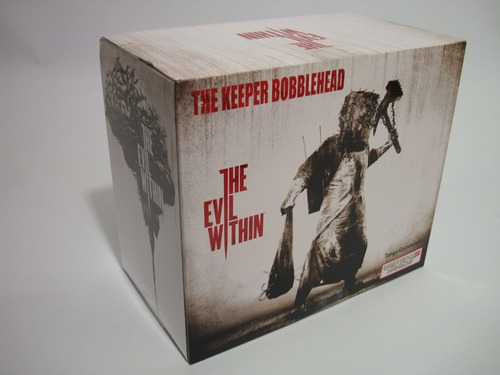 figura bobblehead the keeper de the evil within