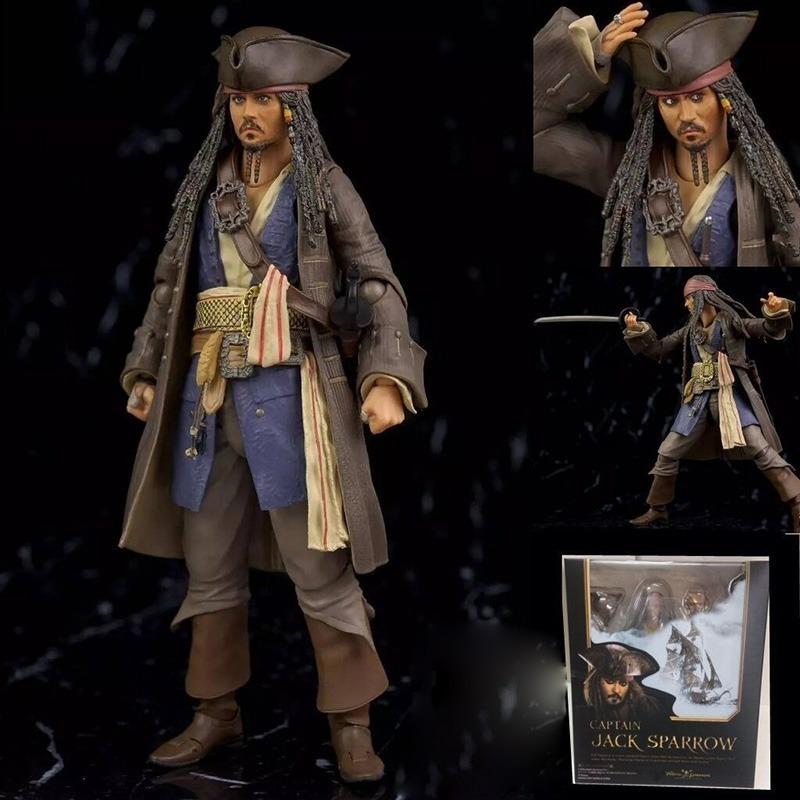 842548084a18e figura boneco piratas do caribe - capitão jack sparrow. Carregando zoom.