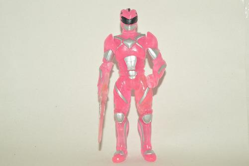 figura bootleg de power rangers 2017 la pelicula pink