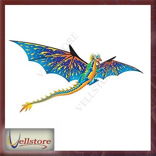 figura brainstorm dragon windnsun 3 d nylon kite 76