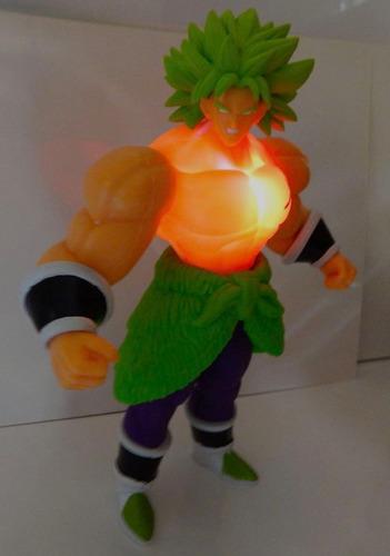 figura broly super sayayin dragon ball super z dbz luz 27cm