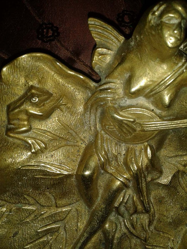 figura bronce antiguedad