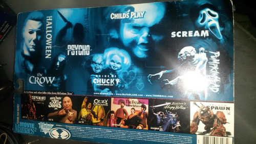 figura chucky movie maniacs original