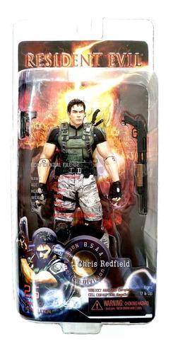 figura coleccion resident evil chris redfield tamaño:19cm