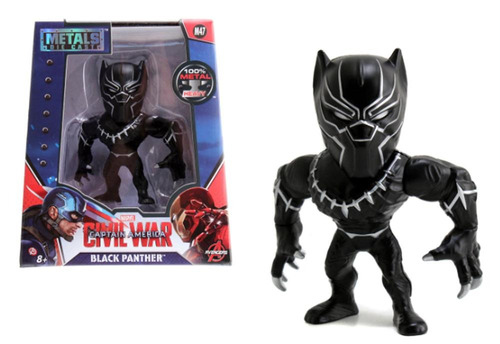 figura coleccionable 4  metals marvel black panther