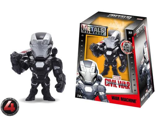 figura coleccionable 4  metals marvel maquina de guerra