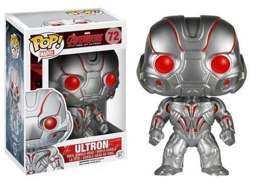 figura coleccionable 4  pop marvel ultron