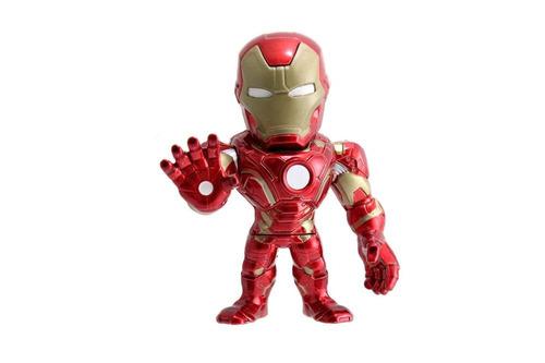 figura coleccionable 6  metals marvel ironman