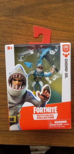 figura coleccionable fortnite de epic games chomp sr.