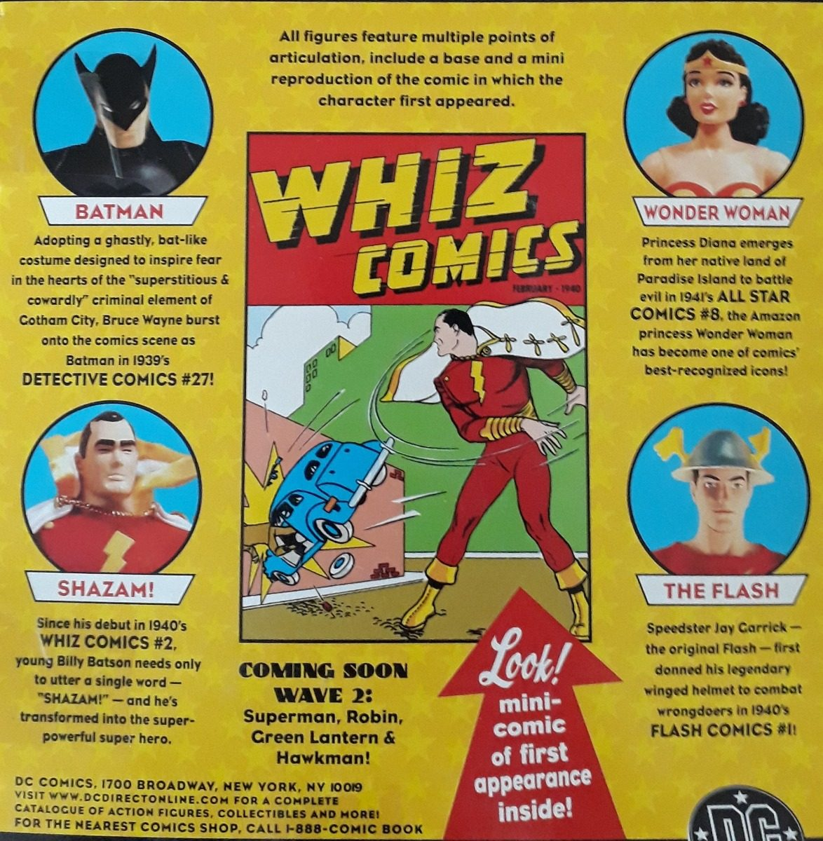 Figura Dc First Appearance Shazam Direct Coleccionable bygYf7v6