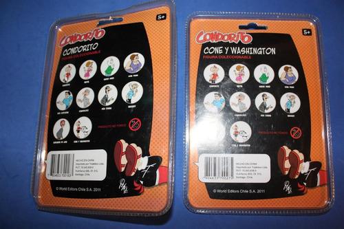 figura coné condorito washington primera edición n° 1 y 10