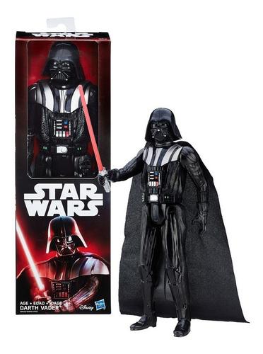 figura darth vader 30cm star wars galaxy con accesorio