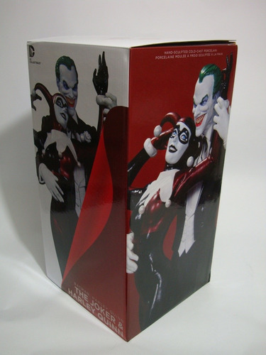 figura dc collectibles joker y harley quinn 30 cm