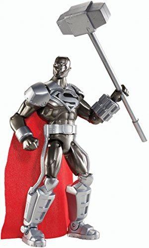 figura dc comics total heroes steel 6