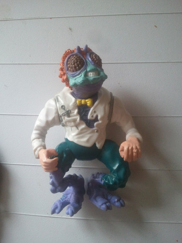 figura de accion baxter stockman tmnt vintage 1989 playmates