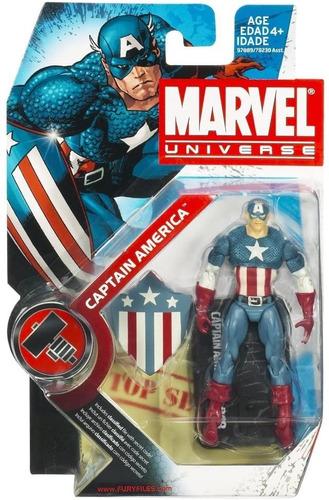 figura de acción capitán américa / marvel universe