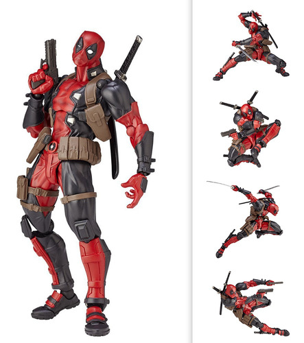 figura de acción crazy toys deadpool coleccionable