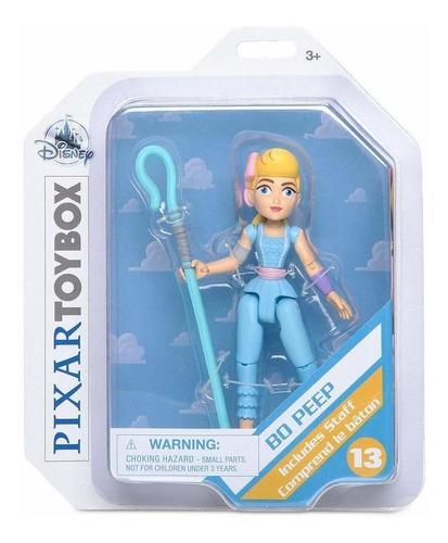 figura de acción de bo peep - toy story 4 - pixar toybox