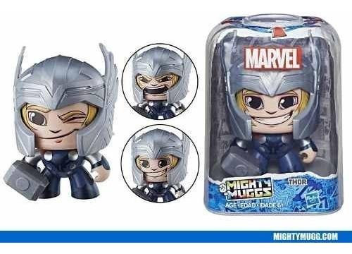figura de acción de marvel mighty muggs capitán américa ii