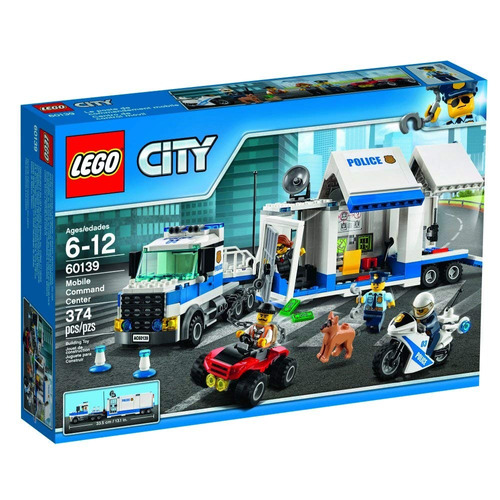 figura de acción de oficial de policía lego city 60139