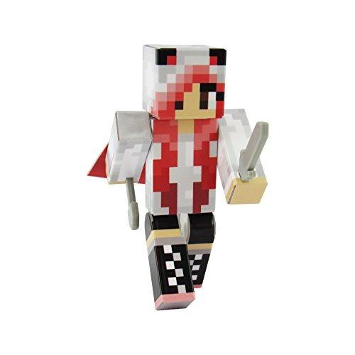 figura de acción de panda girl red, estatuillas de serie de