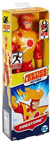 figura de acción de tormenta de fuego de dc justice league,