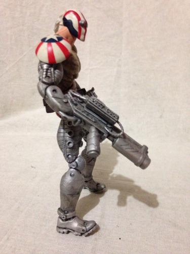 figura de acción del capitán guerra