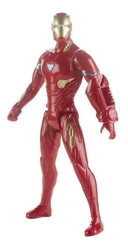 figura de acción iron man marvel titan hero series
