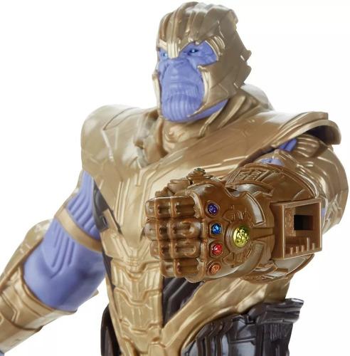 figura de accion marvel avengers infinity thanos 30cm hasbro