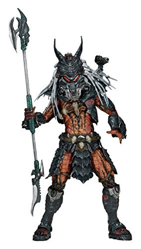 figura de acción neca predator scale deluxe clan leader, 7