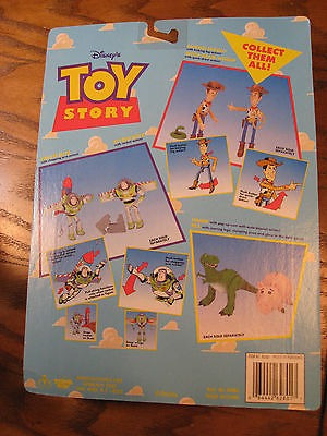 figura de acción original de disney toy story - woody w / q