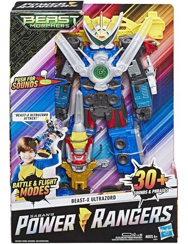 figura de accion power rangers beast-xultrazord