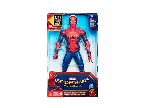 figura de accion spiderman con sonido y ojos interactivos ha