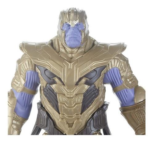 figura de acción thanos avengers marvel endgame titan hero