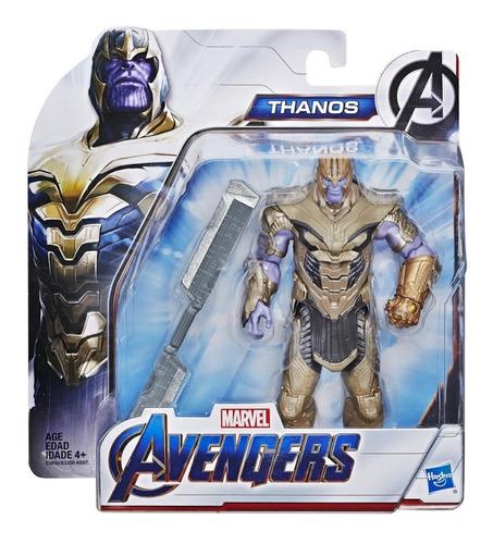 figura de acción thanos marvel avengers end game - hasbro