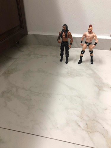 figura de accion wwe the usos
