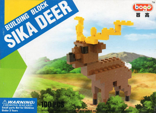 figura de alce compatible con blocks