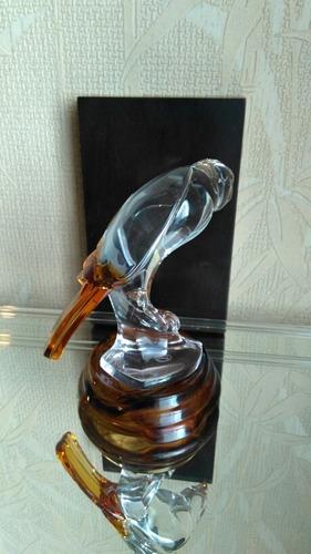 figura de baccarat de cristallerie d' art  por roger gross