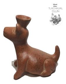 Figura De Barro Perro Xolo Xoloitzcuintle Mexicano Vasija