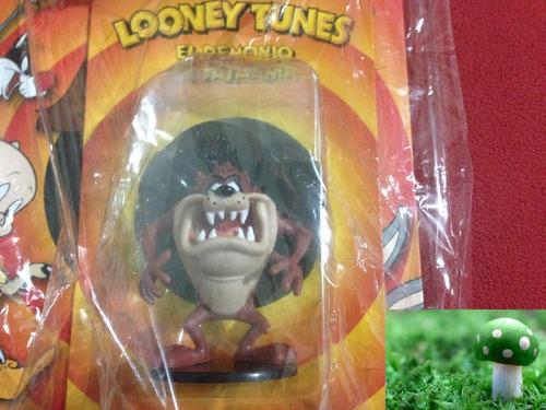 figura de colección el demonio de tasmania de looney tunes