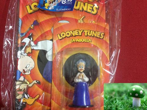 figura de colección la abuela de looney tunes nueva, sellada